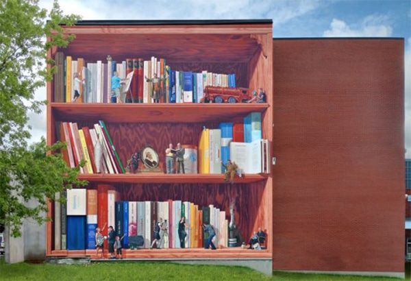 Bookstore Mural - Pittsboro