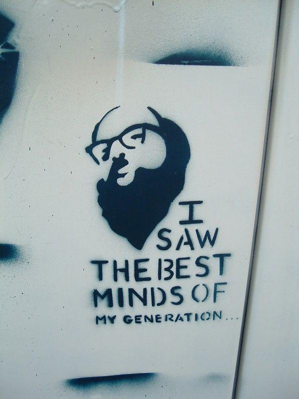 """Allen Ginsberg, """"Howl, Parts I & II"""", Boulder, CO"""