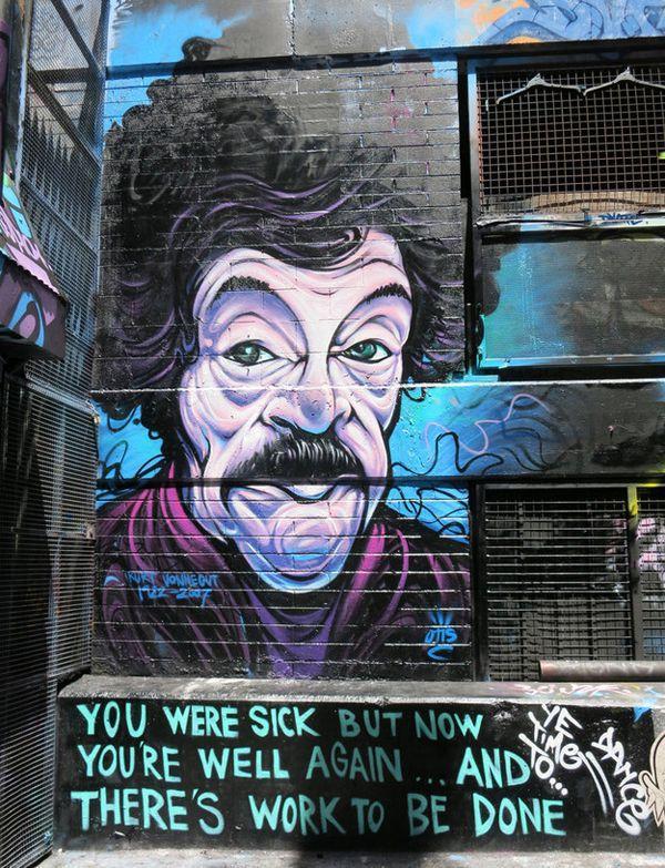 """Kurt Vonnegut, """"Timequake"""", Melbourne, Australia"""