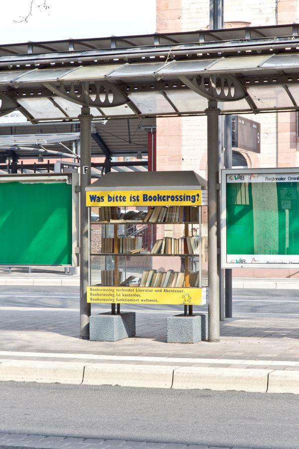 Aschaffenburg - Bookcrossing in der Ludwigstraße