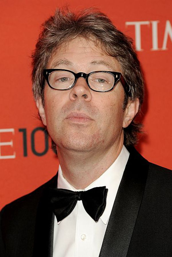 epa02703994 Writer Jonathan Franzen, of the US, arrives for the Time 100 gala celebrating the magazine's list of 100 most influential people in New York, New York, USA, on 26 April 2011.  EPA/JUSTIN LANE