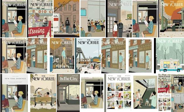 The Ner Yorker Covers, Adrian Tomine