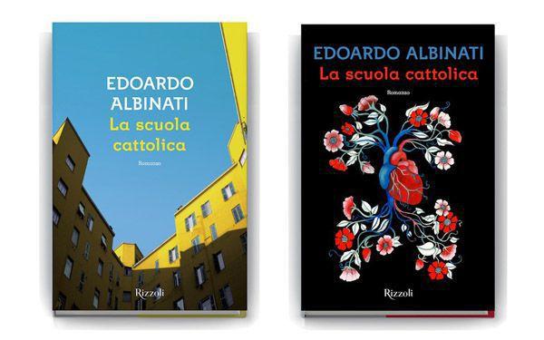 Edoardo Albinati, La scuola cattolica A sinistra: copertina approvata, immagine© Maria Luisa Corapi A destra: illustrazione © Lisa Perrin