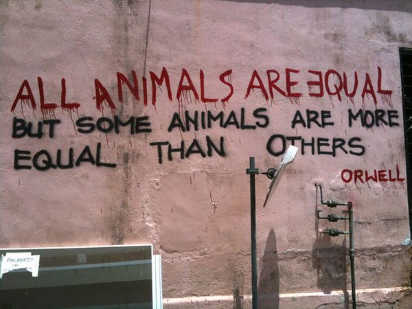 "George Orwell, ""Animal farm"", Singapore"